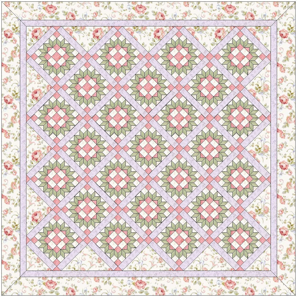 "Quiltmaker's 100 Blocks Vol 5"" Blog Tour – Jennifer Chiaverini : romantic quilt patterns - Adamdwight.com"